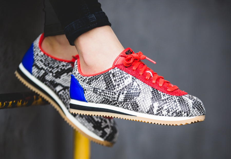 Nike Wmns Cortez Leather PRM 'Python Pack'