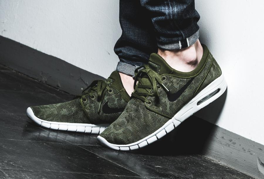 Chaussure Nike SB Stefan Janoski Max Olive Pack Legion Green