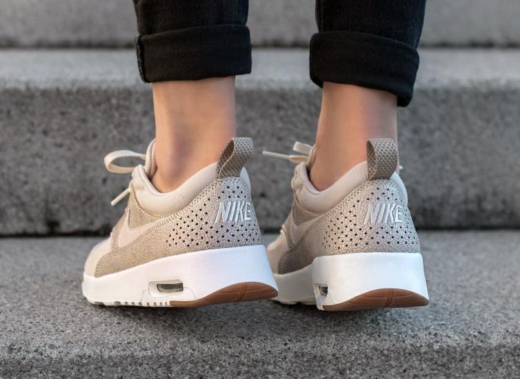 site réputé 16c07 50734 Nike Air Max Thea Premium 'Beige' Oatmeal (cuir craquelé)