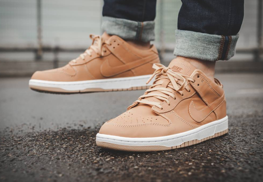 Nike Dunk Low Lux 'Vachetta Tan & Arctic Orange'