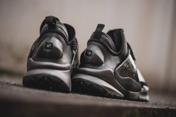 Chaussure Stone Island x NikeLab Sock Dart Black (noir) (2)