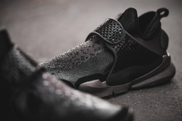 Chaussure Stone Island x NikeLab Sock Dart Black (noir) (3)