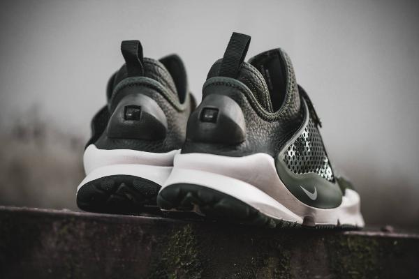 Chaussure Stone Island x NikeLab Sock Dart Sequoia (2)
