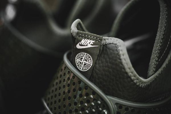 Chaussure Stone Island x NikeLab Sock Dart Sequoia (3)