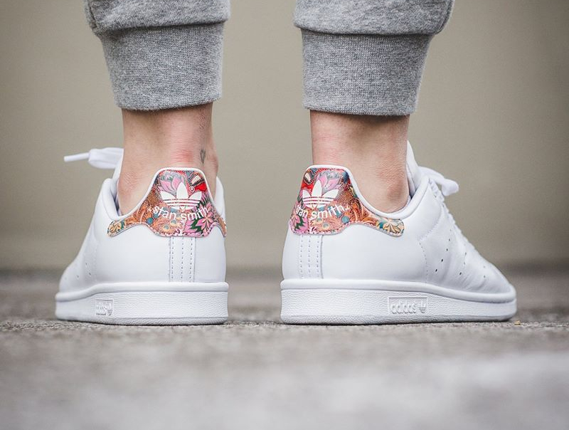 Chaussure The Farm Company x Adidas Stan Smith W Flowers Bali (femme) (1