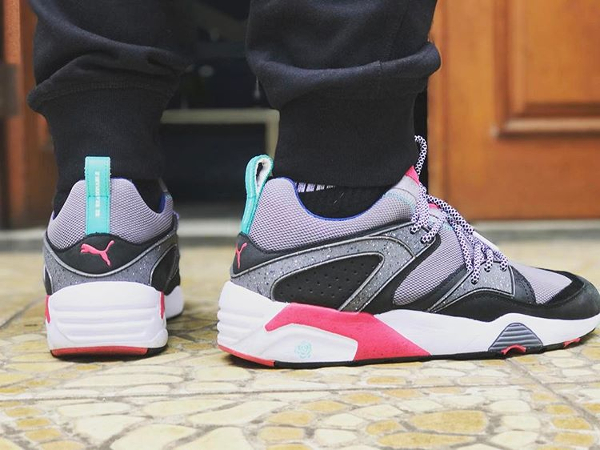 Crossover x Puma Blaze Of Glory Steel Gray - @ganjarisanggoro