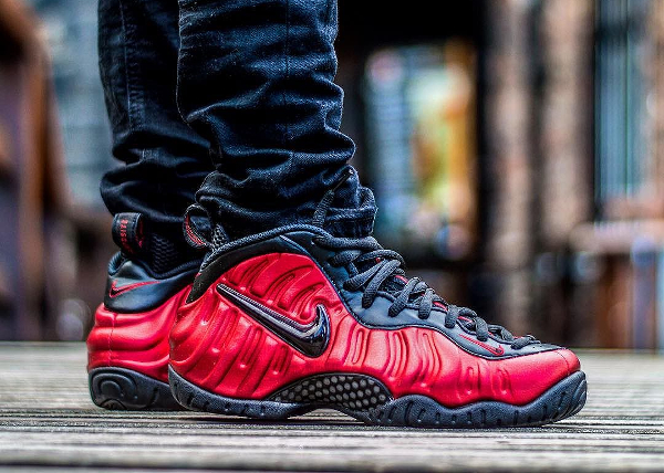 Nike Air Foamposite Pro University Red - @itsjvelasco