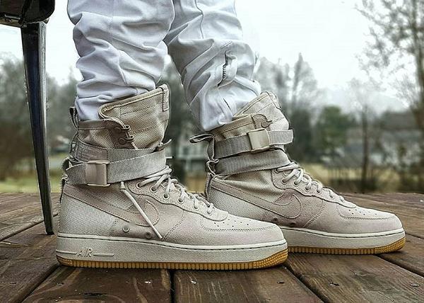 Nike Air Force 1 SF AF1 String Tan - @wes_cali_fa