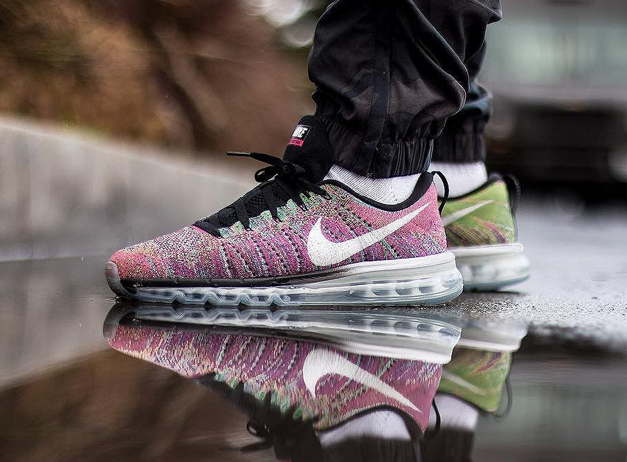 Nike Flyknit Air Max Multicolor - @_shoezilla