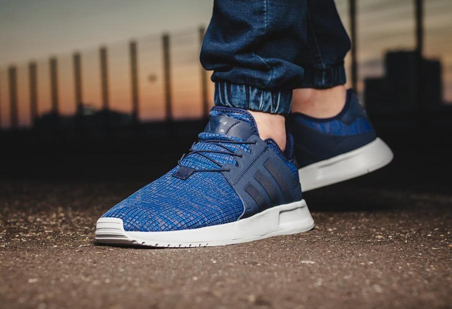 Soldes Adidas X PLR Dark Blue pas cher