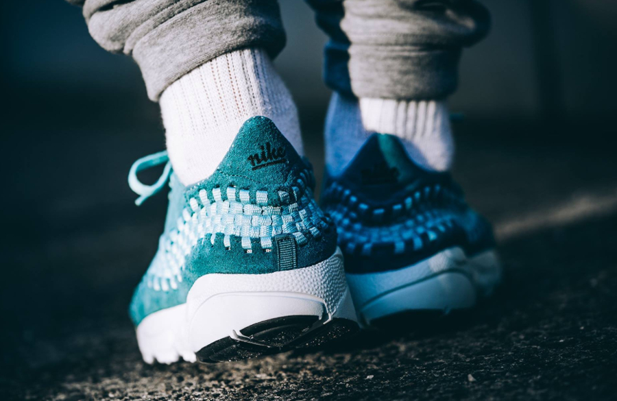 Nike Air Footscape Woven 'Smokey Blue'