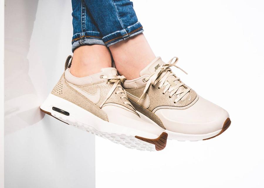 site réputé 494d3 5dda9 Nike Air Max Thea Premium 'Beige' Oatmeal (cuir craquelé)
