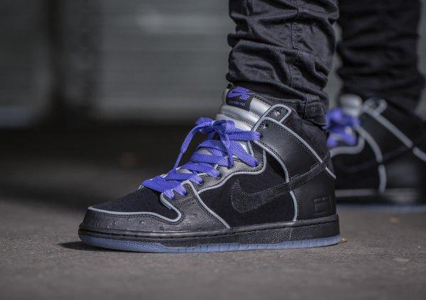 Nike Dunk High Pro SB 'Black Box' (MF Doom)