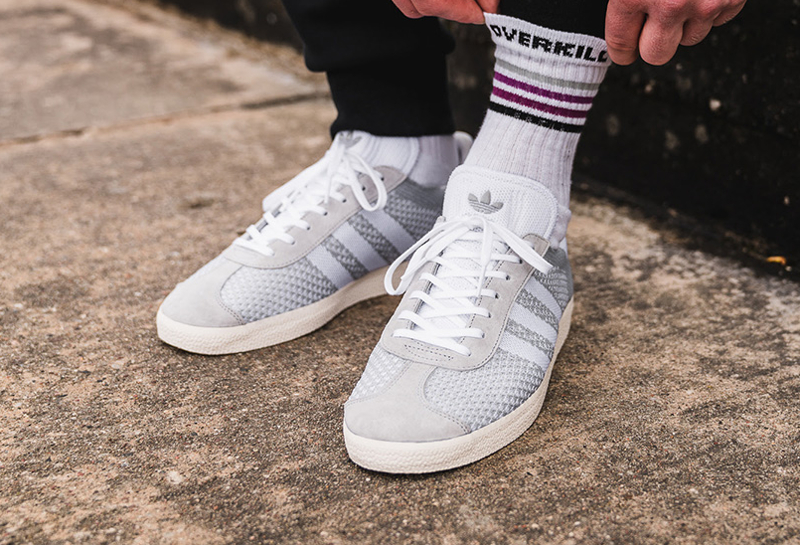 soldes-Adidas-Gazelle-Primeknit-grise-Clear-Onix-pas-cher