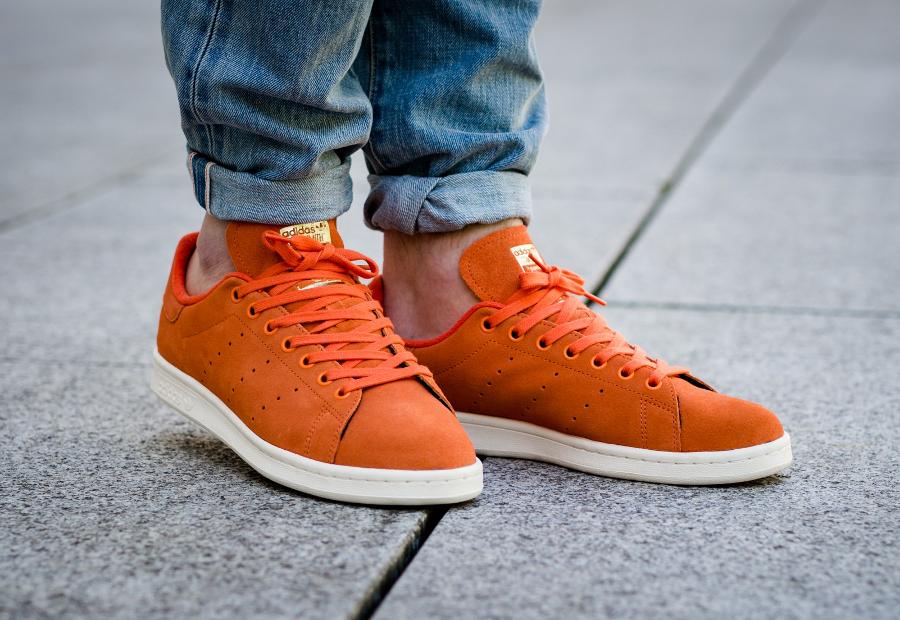 soldes-Adidas-Stan-Smith-PRM-Energy-Orange-pas-cher