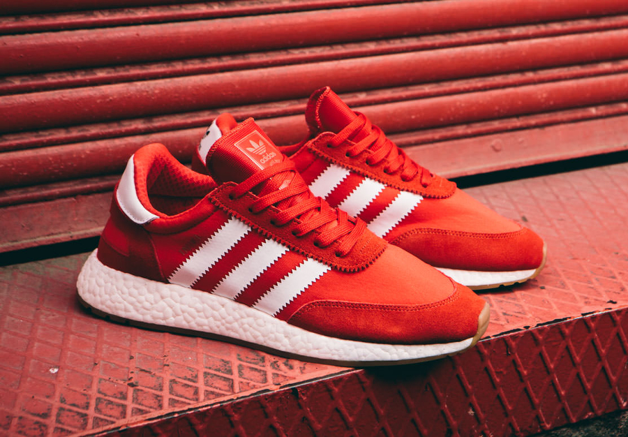 Adidas Originals Iniki Runner rouge (1)