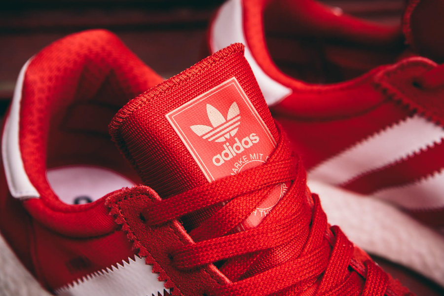 Adidas Originals Iniki Runner rouge (3)
