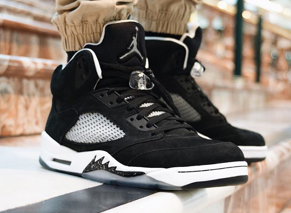 Air Jordan 5 Retro Oreo - @ghostfacefilla