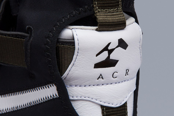 Basket Acronym x NikeLab Air Force 1 Downtown Hi SP Black White (5)