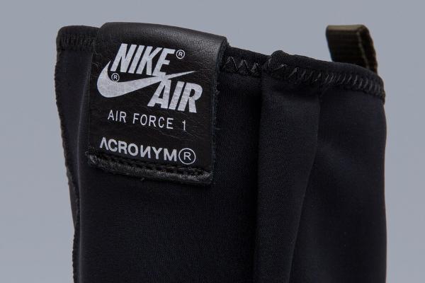 Basket Acronym x NikeLab Air Force 1 Downtown Hi SP Black White (7)