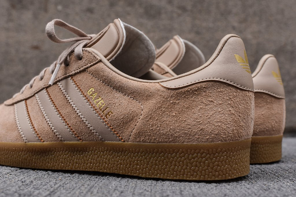 Basket Adidas Gazelle Clay Brown (2)