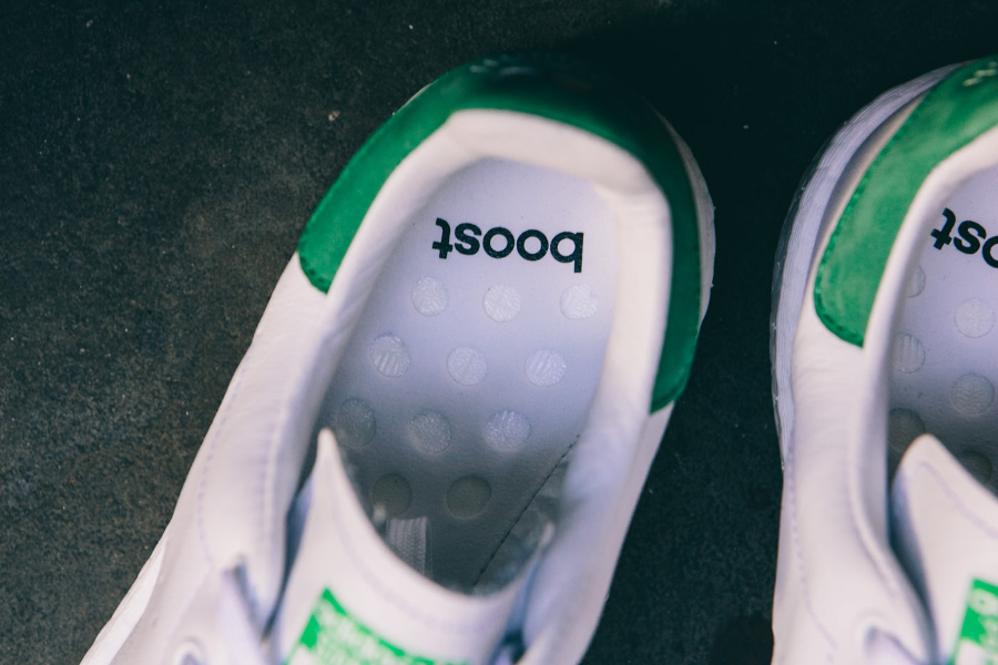 Basket Adidas Stan Smith Boost OG White Green (2)