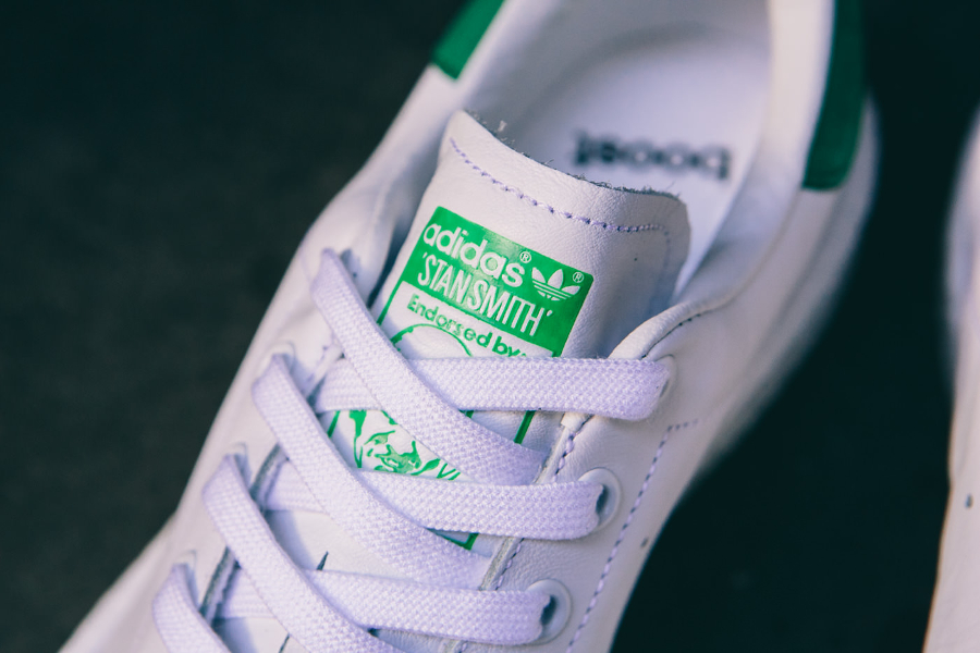 Basket Adidas Stan Smith Boost OG White Green (3)