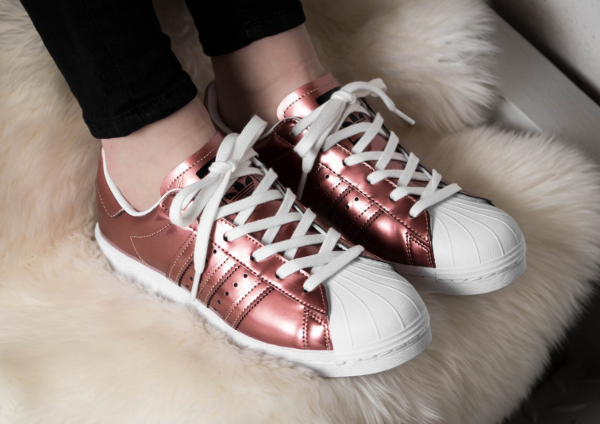Basket Adidas Superstar W Boost Copper Metallic (1)