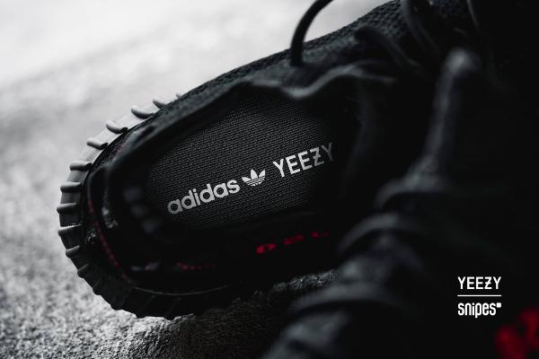 Basket Adidas Yeezy 350 Boost V2 Bred (2)