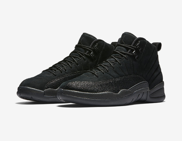 Basket Air Jordan 12 Retro OVO Black Metallic Gold (6)