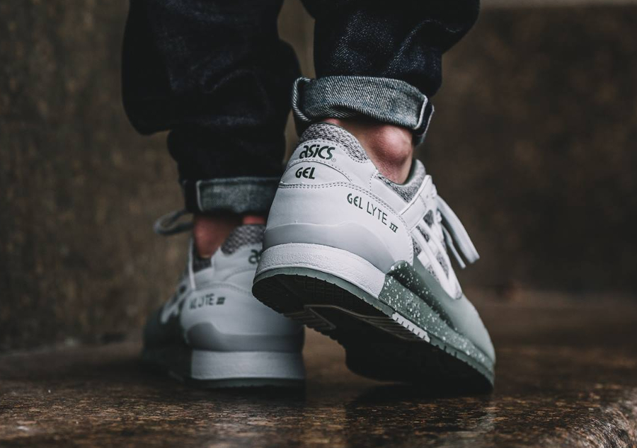 Basket Asics Gel Lyte 3 No Sew Agave Green (2)
