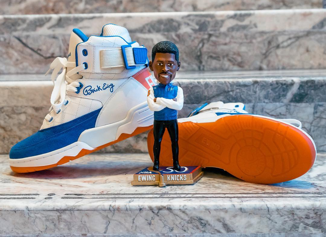 Basket Ewing 33 Hi 50 Greatest Players Ceremony White Blue Orange (1)