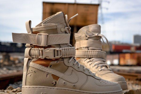 Basket Nike Air Force 1 SF AF1 Desert Camo (1)