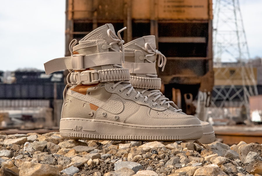 Basket Nike Air Force 1 SF AF1 Desert Camo (5)