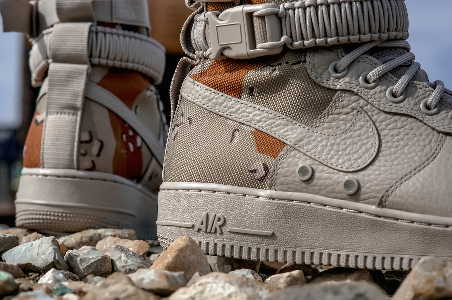Basket Nike Air Force 1 SF AF1 Desert Camo (6)