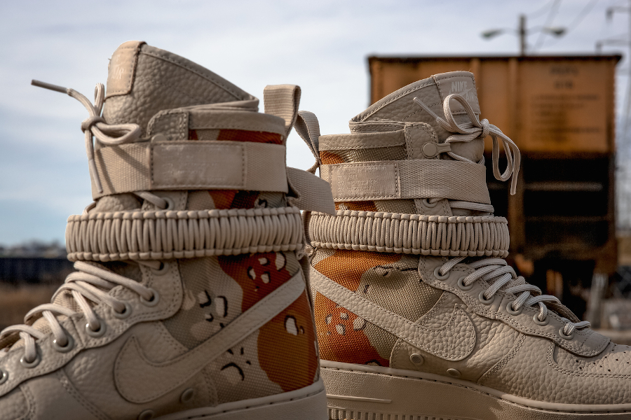 Basket Nike Air Force 1 SF AF1 Desert Camo (7)