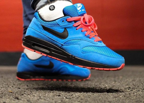 Basket Nike Air Max 1 ID Essential Photo Blue (1)