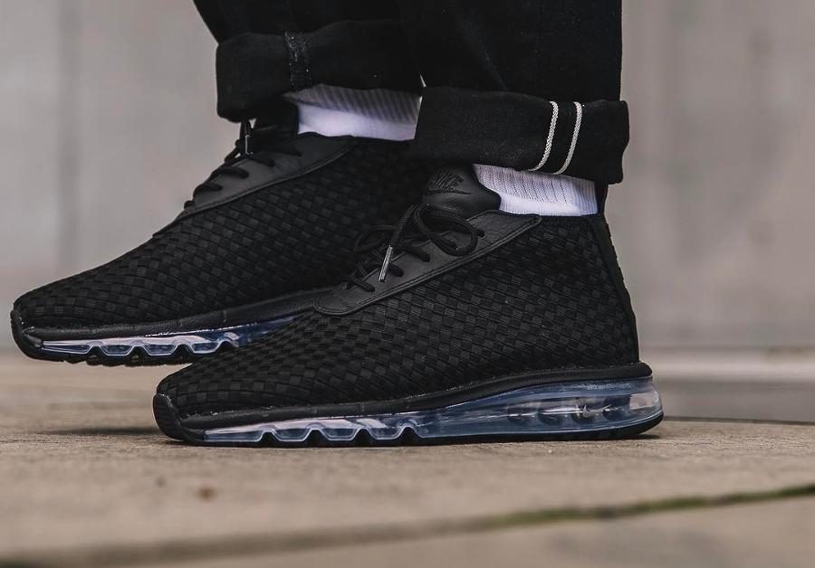 NikeLab Air Max Woven Boot Noire 'Triple Black' (homme)