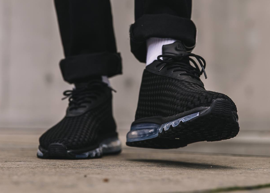 Basket Nike Air Max Woven Black (2)