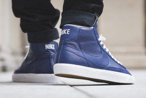 Nike Blazer Mid PRM 'Binary Blue'