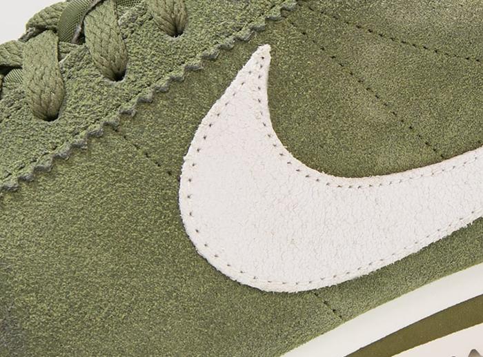Basket Nike Cortez Suede SE Legion Green (2)