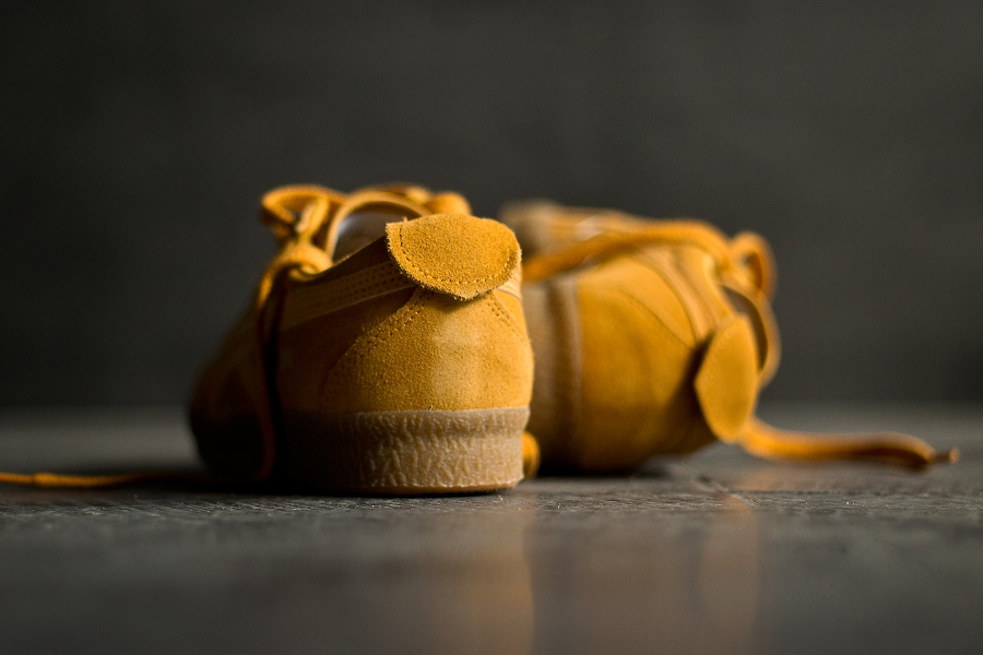 Basket Onitsuka Tiger Mexico Delegation Suede Golden Yellow (2)