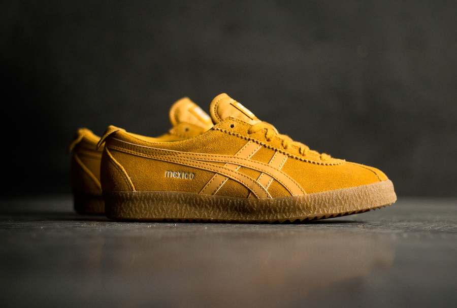 Basket Onitsuka Tiger Mexico Delegation Suede Golden Yellow (3)