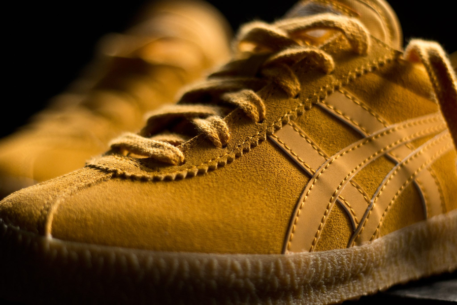 Basket Onitsuka Tiger Mexico Delegation Suede Golden Yellow (4)
