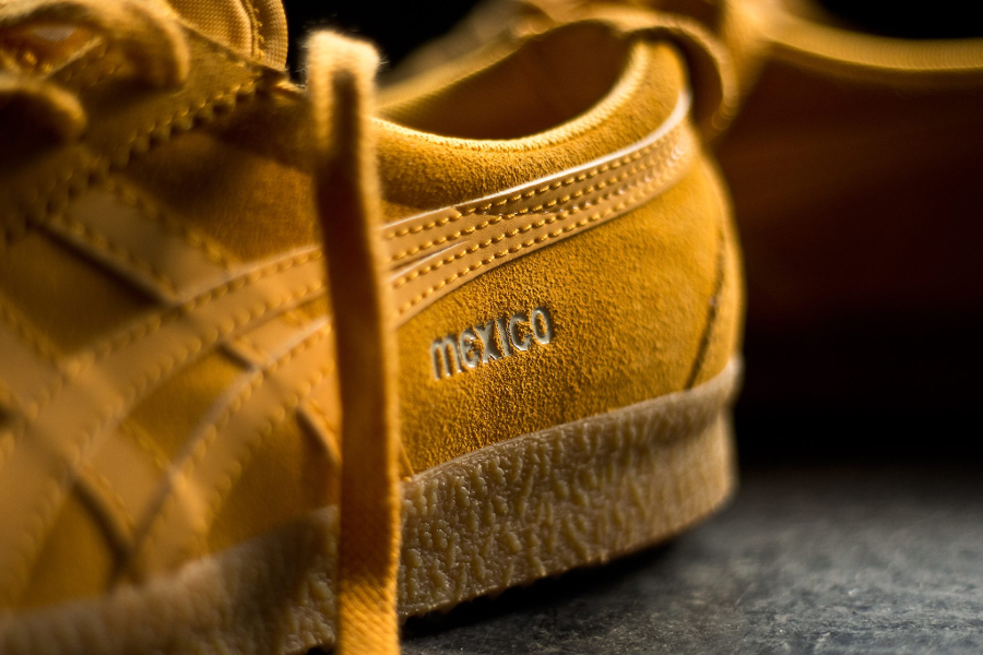 Basket Onitsuka Tiger Mexico Delegation Suede Golden Yellow (5)