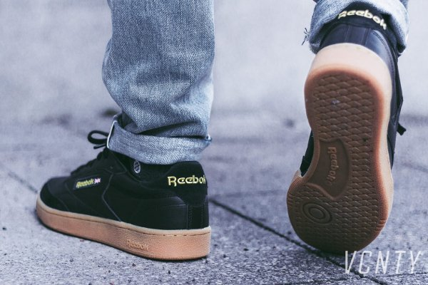 Basket Reebok Club C 85 TDG Black Gum (1)