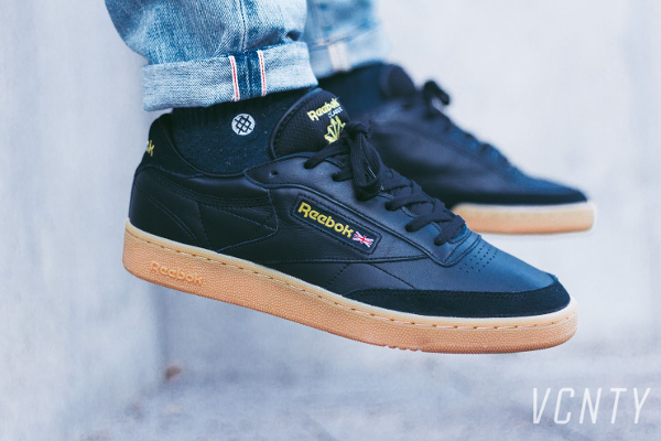 Basket Reebok Club C 85 TDG Black Gum (2)
