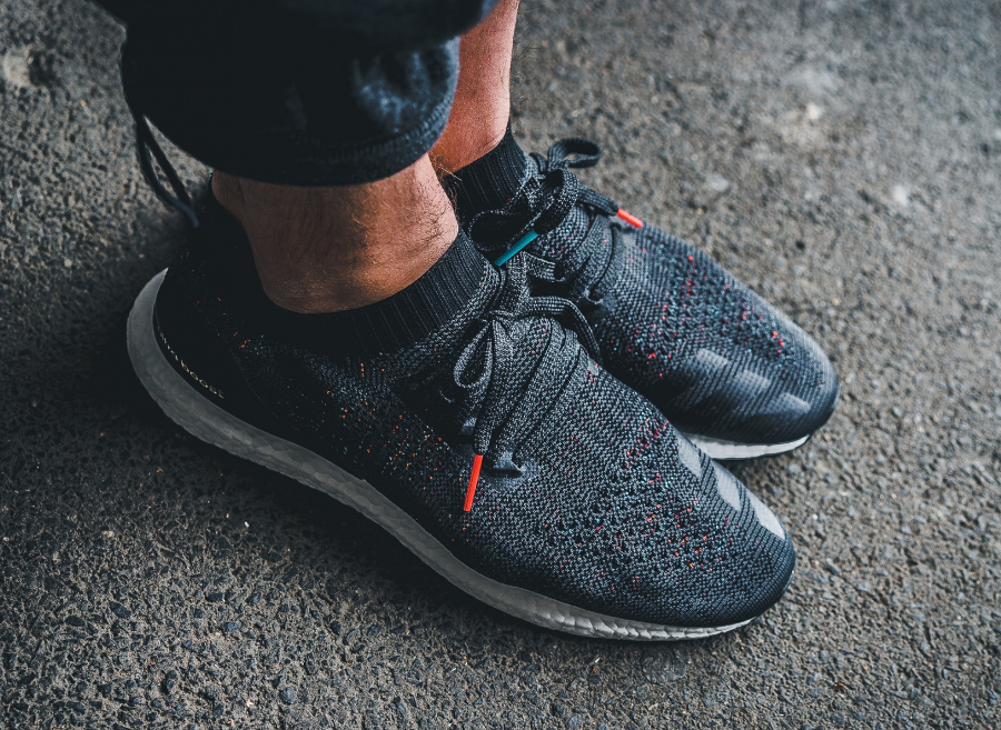 Chaussure Adidas Ultra Boost Uncaged Black Multicolor Speckle (2)