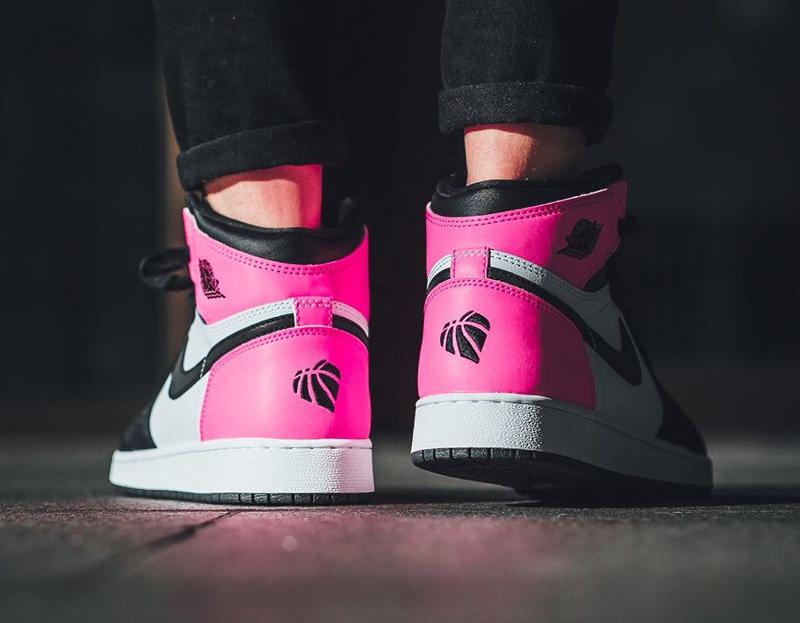 Chaussure Air Jordan 1 Retro High Saint Valentin 2017 Hyper Pink (2)