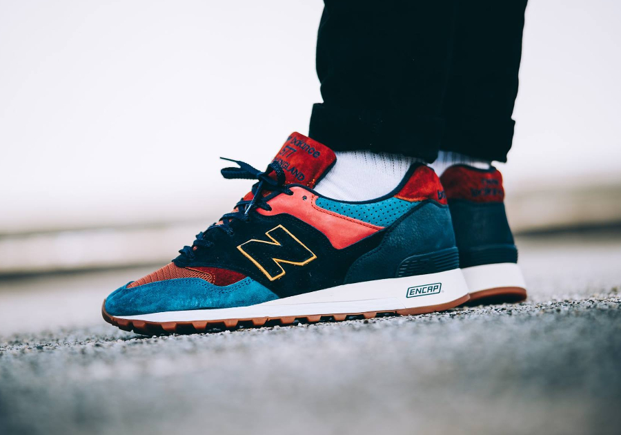 Chaussure New Balance M 577 YP Yard Pack Multicolor (made in England) (2)